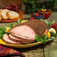 Smoked Peppered Turkey Breast