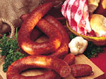 Pork & Beef Ring Smoked Sausage